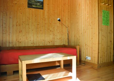 Inside our chalet