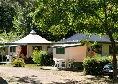 Nos tentes Bengali tout confort pour essayer le Glamping