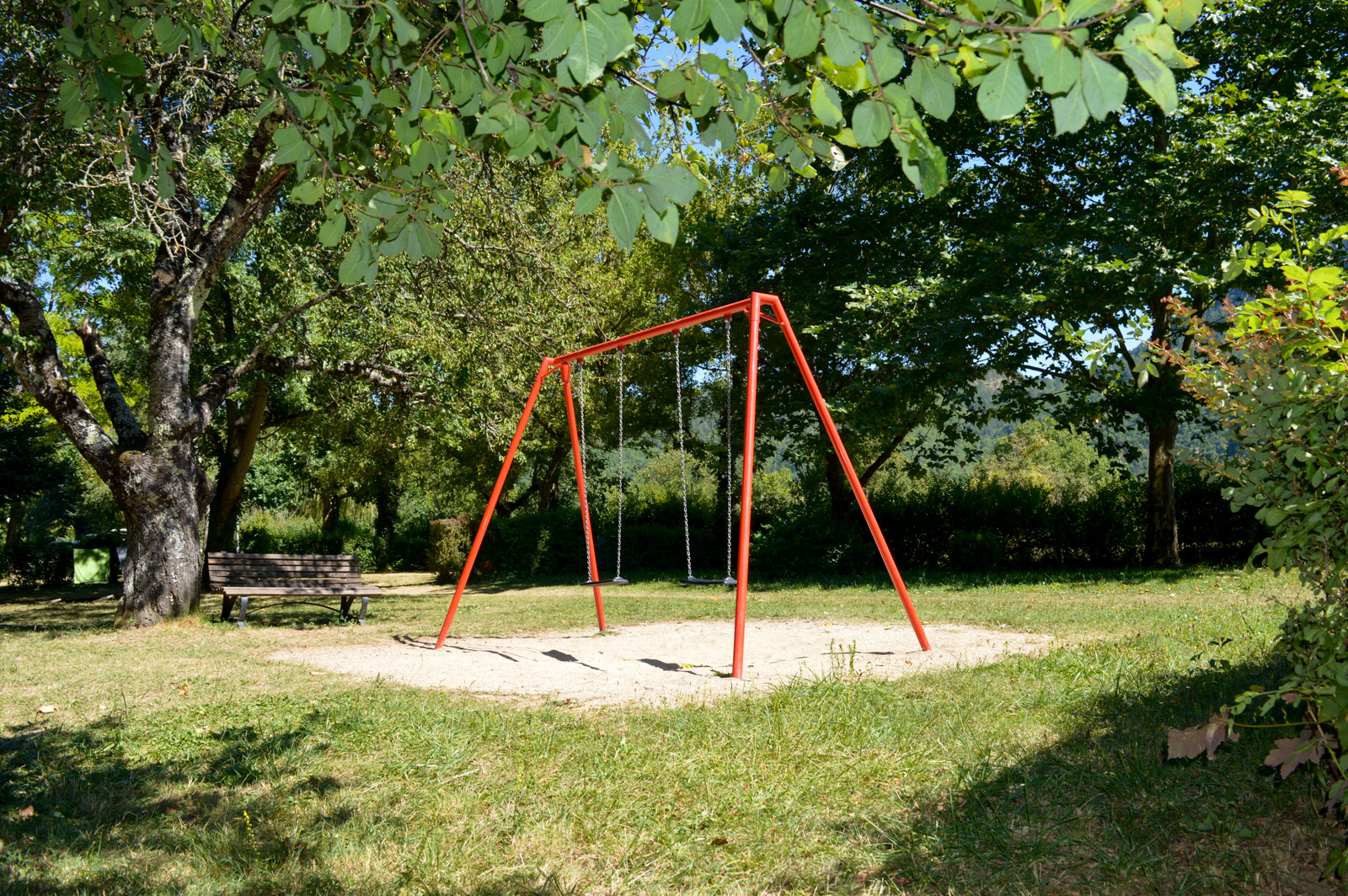 swing and children's play air