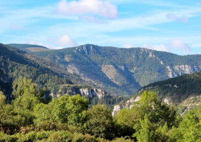 The gate of Gorges du Tarn