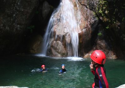 Some canyoning in the Gorges du Tarn