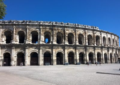The arenas of Nîmes