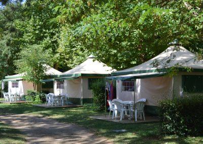 Nos tentes Bengali, confort et Glamping