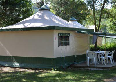 Profitez de tout le confort de nos tentes Bengali