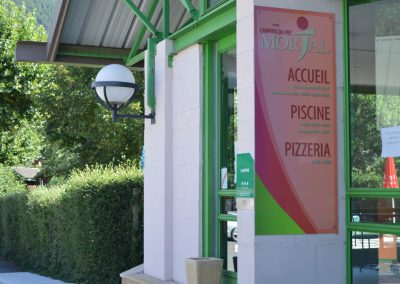 Notre camping vous propose de découvrir sa pizzeria