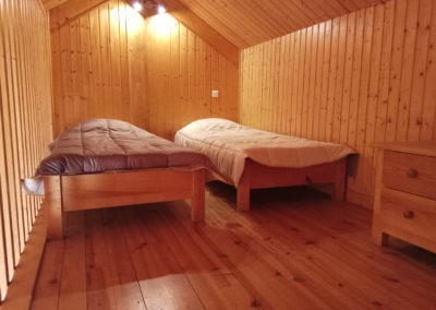 Chambre grand chalet