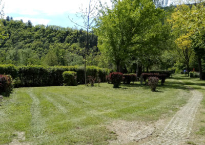 Des emplacements verdoyants, spacieux et calmes