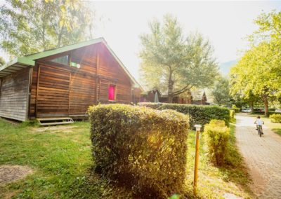 Grands chalets camping