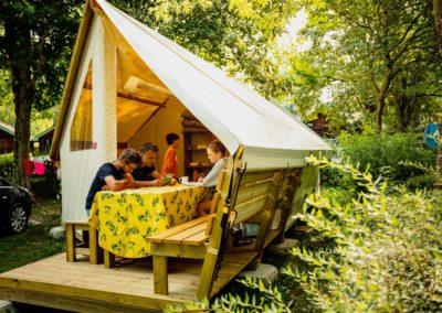 Lodge camping 1